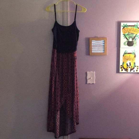 Rue21 Dresses & Skirts - A spaghetti strap dress slit up the middle.